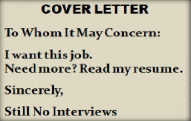 Nice Cover Letter Mistakes